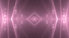 VJ Fractal pink kaleidoscopic background. - stock footage
