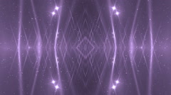 VJ Fractal violet kaleidoscopic background. Stock Footage