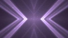 VJ Fractal violet kaleidoscopic background. - stock footage