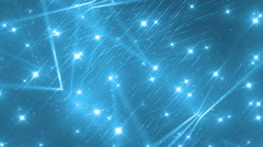 Floodlights Disco Blue Background. Stock Footage