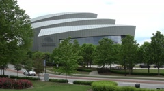 Cobb Energy Performing Arts Center in Atlanta Stock Footage