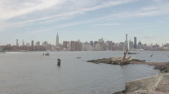 USA, New York, New York City - stock footage