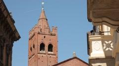 Monza, Italy - Arengario Stock Footage