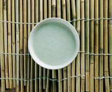 Algerian almond soup Stock Photos