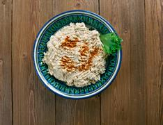 Circassian Chicken - stock photo