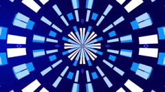 Blue abstract background, lines and rectangles , loop Stock Footage