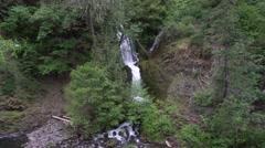 Dead Point Creek Falls, Dee, Oregon Stock Footage
