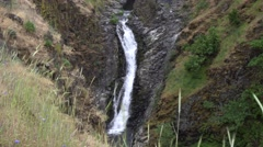 Mosier Creek Falls, Columbia River Gorge National Scenic Area, Oregon Stock Footage