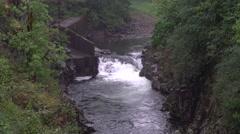 Salmon Falls, Skamania County, Washington - stock footage