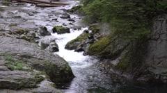 Reeder Falls, Skamania County, Washington Stock Footage