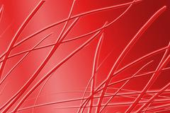 abstract red grass background, beautiful banner wallpaper design illustration - stock illustration