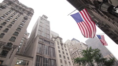 Towering high rises, New York City, New York, USA Stock Footage