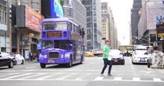 New York City, New York, USA Stock Footage