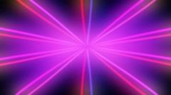 Purple Colored Rays Sunbursr Loop Background - stock footage