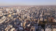 Palacio Barolo at the center of sprawling Buenos Aires, Argentina Stock Footage