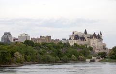 Chateau Laurier Hotel Ottawa - stock photo