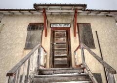 Abandoned School House - stock photo