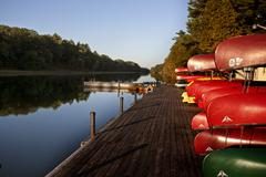 Canoe Rental Lake Huron Kuvituskuvat