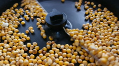 Popcorn Popping In A Popcorn Machine Stock Footage