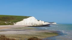 Area in Southern England called Seven sisters Stock Footage