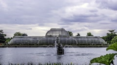 The Palm house in Kew gardens Stock Footage
