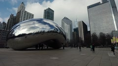 Chicago Bean 1 Stock Footage