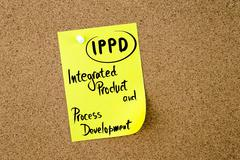 Business Acronym IPPD Integrated Product and Process Development - stock photo