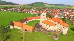 The Svihov Castle. Stock Footage