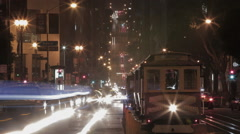 California Street Long Exposure Time Lapse 2 Prores422 Stock Footage