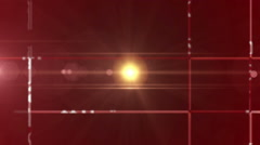 digital data technology numbers backgorund LOOP zoom out red - stock footage