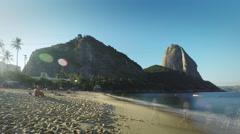 Sugarloaf Mountain - Time Lapse # 1 - Rio de Janeiro - Brazil Stock Footage