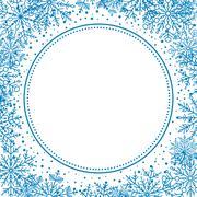 Winter Greeting Card Stock Illustration
