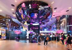Paragon Cineplex in Siam Paragon shopping mall, Bangkok - stock photo