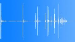 Drop Heavy Metal Bolt or Screw 1 Sound Effect