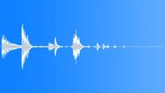 Metal Debris Shuffle Twist 4 Sound Effect