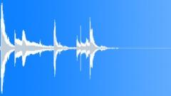 Metal Tool Pick Up in Plastic Bin - sound effect