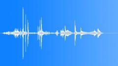 Small Copper Interlock Metal Part Slide Sound Effect