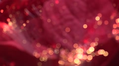 Blurred Christmas illuminations Stock Footage
