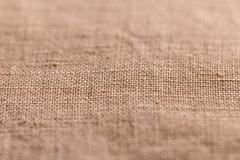 Brown sheer textured cloth Stock Photos