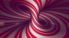 Red twirl. Seamless animation. Stock Footage