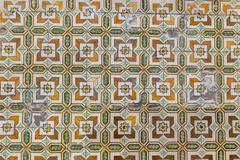 traditional azulejos tiles - stock photo