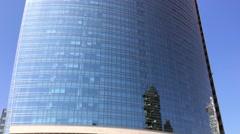 Milan, Unicredit Skyscraper Stock Footage