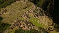 MACHU PICCHU: Different view. Peru, South America Stock Footage