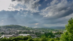 Time Lapse of Kendal The Lakes District Stock Footage