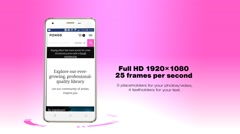 Mobile App Promo - stock after effects