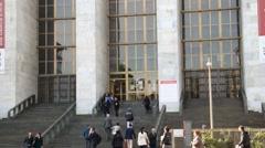 Milan - Courthouse Stock Footage