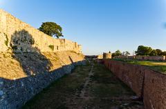 Eastern wall of Kalemegdan fortress, Belgrade, Serbia Kuvituskuvat