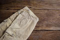 man casual pants - stock photo