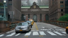 A real time shot of Grand Central Station on September in New York. Stock Footage