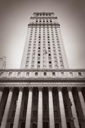 United States Court House - stock photo